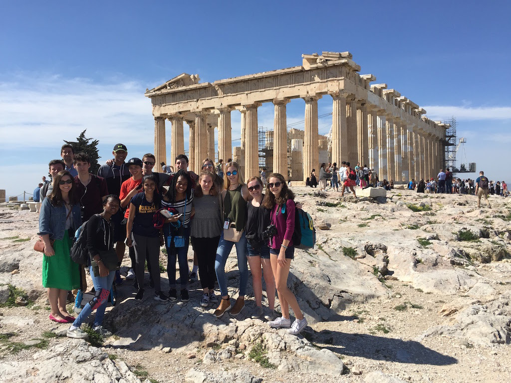 PC Latin Visits Greece and Italy