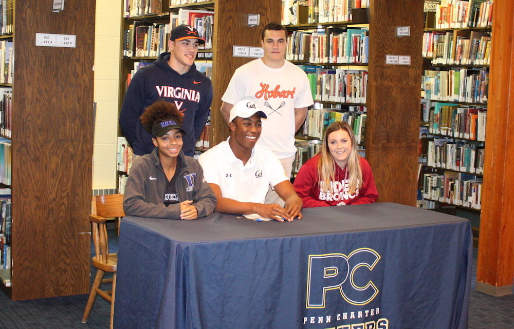 PC Celebrates Athletes Who Will Play On in College
