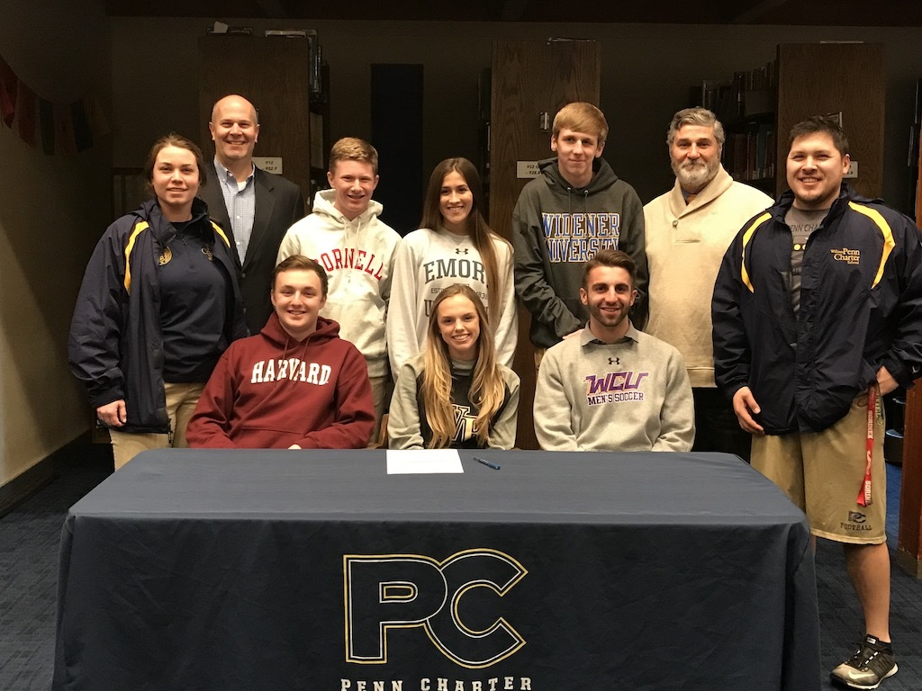 Six PC Athletes Sign to Play in College