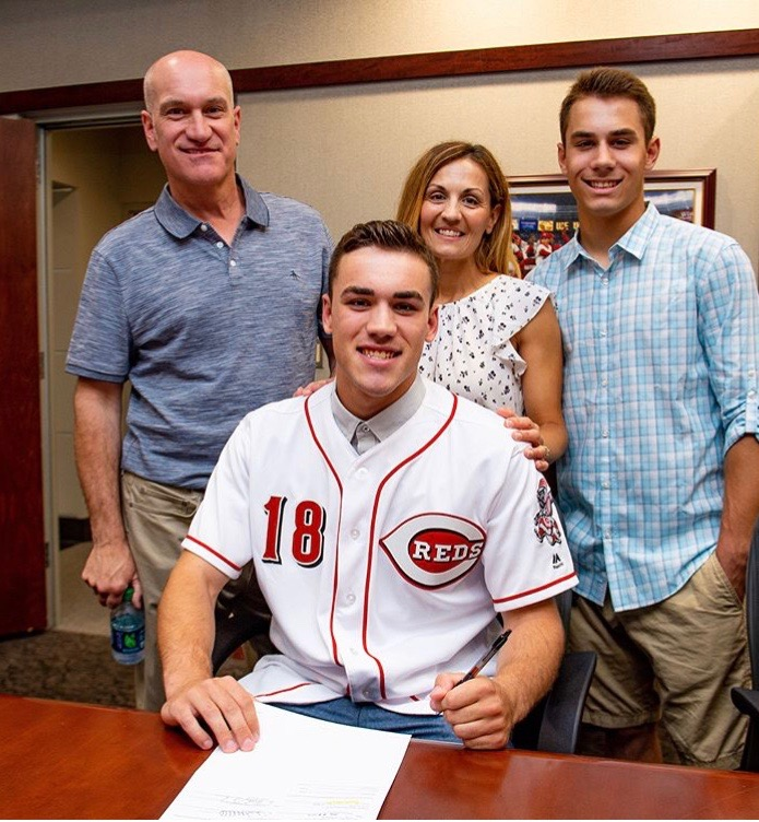 Mike Siani OPC 18 Signs with Cincinatti Reds Penn Charter Baseball