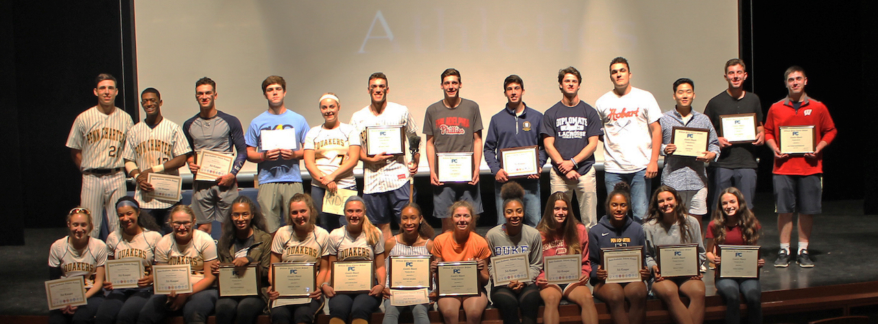 Penn Charter Spring 2018 Athletic Honorees InterAc and PC