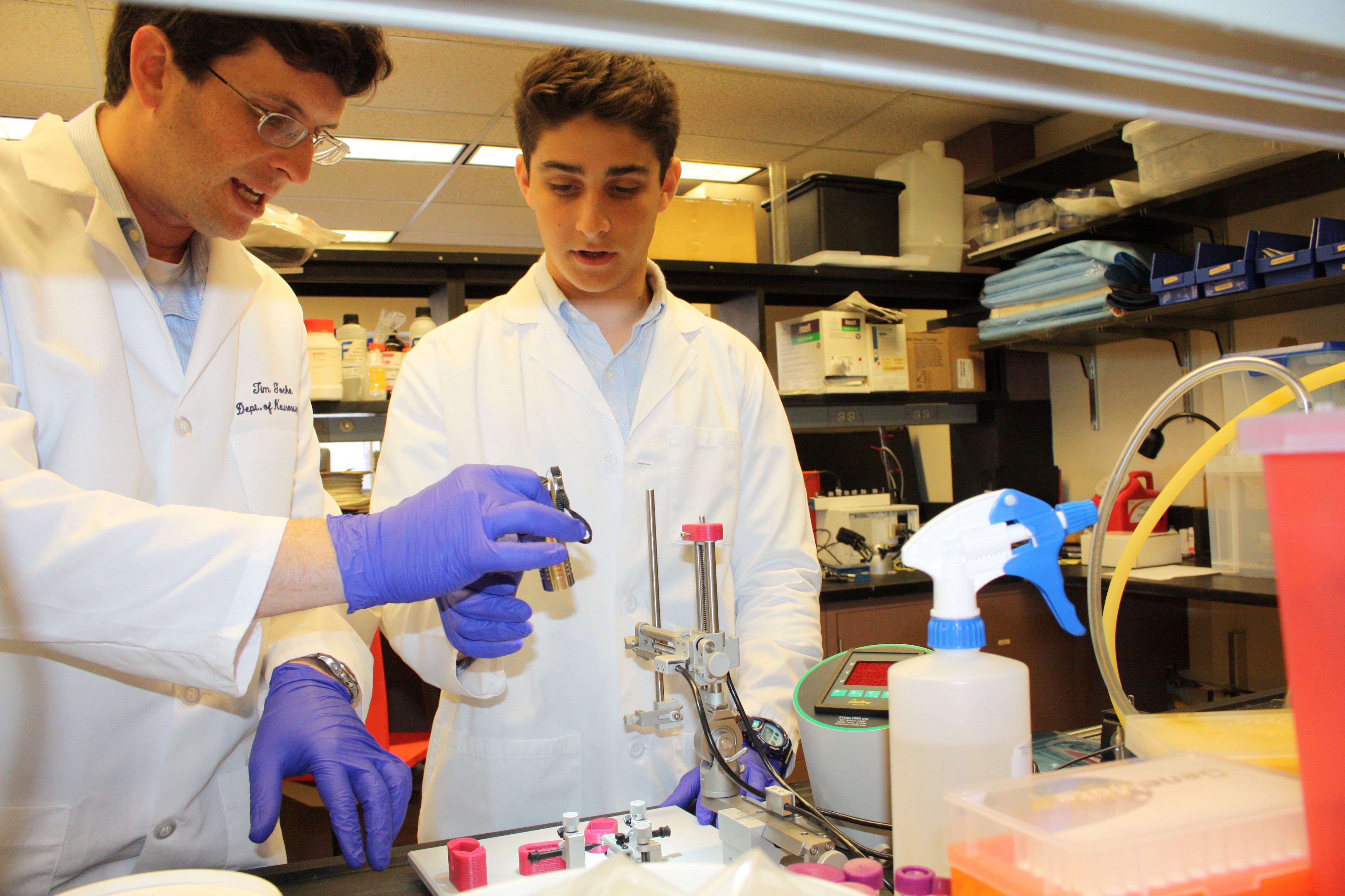 At the Forefront: PC Interns Researching in Science and Engineering