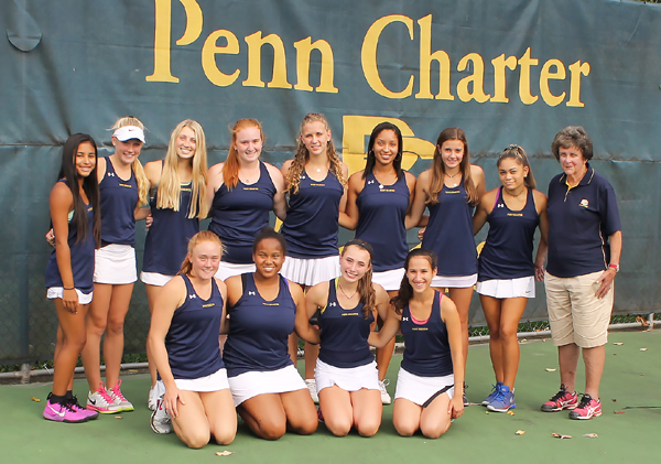 William Penn Charter School Philadelphia Quaker Inter-Ac tennis